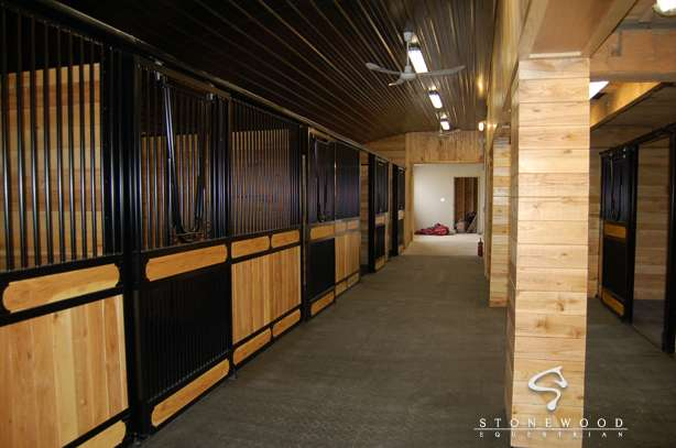 A Circuit Hunter Jumper Stable Equestrian Training